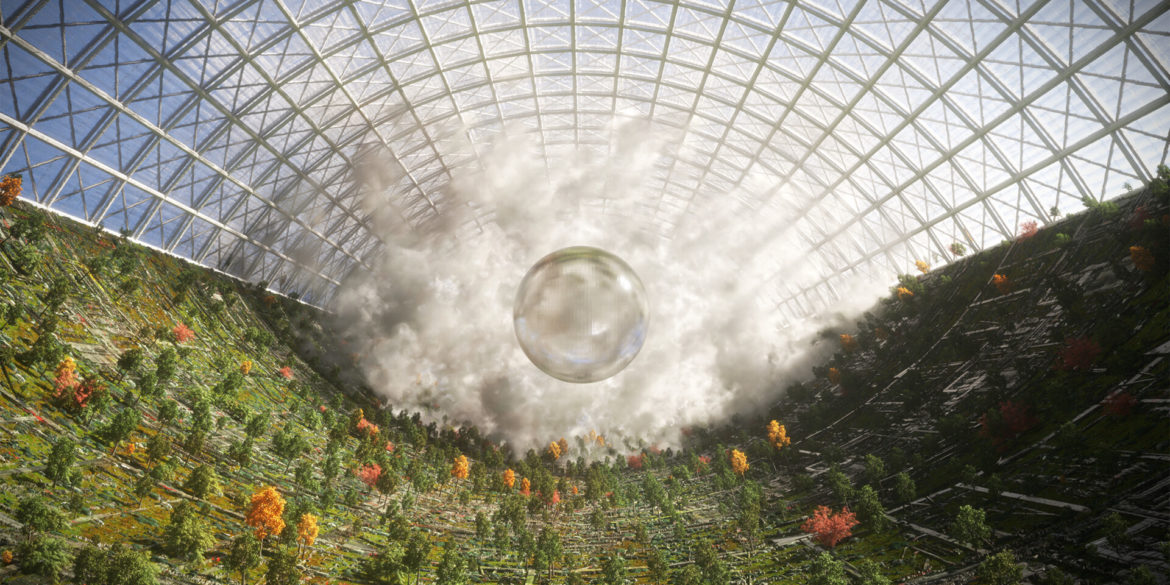 A green world in a tube, are by Artwork courtesy of Annibale Siconolfi | Inward