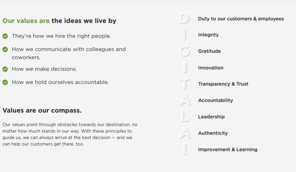 Digital.ai Values